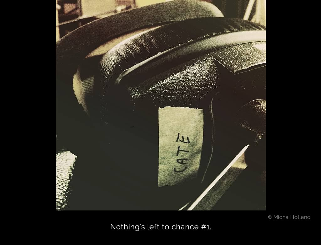 A photo of the studio headphones Cate Martin used while recording Young And Pretty by Ivy Flindt.